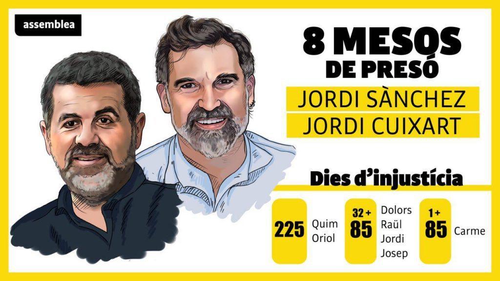 LA JEC AUTORITZA ELS PRESOS A PARTICIPAR EN EL TANCAMENT DE LA CAMPANYA PER VIDEOCONFERÈNCIA