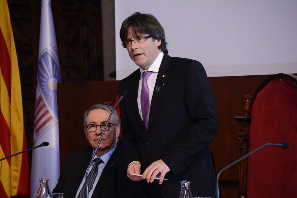 PRESIDENT PUIGDEMONT, UN ANY DE LA DETENCIÓ A ALEMANYA