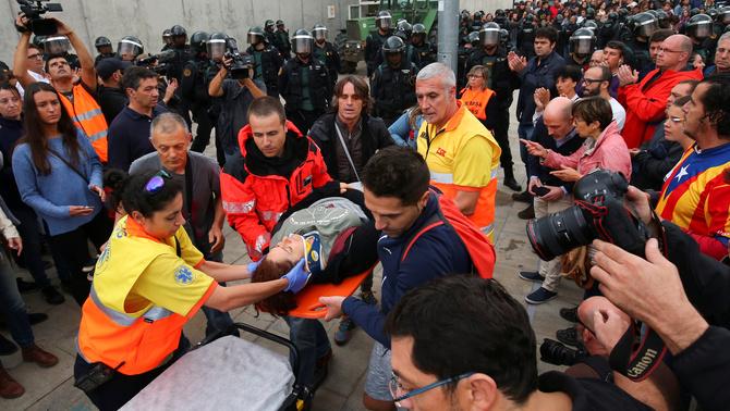 LA JUSTÍCIA EUROPEA NO FARÀ LA INDEPENDÈNCIA, PERÒ EVITARÀ LA VIOLÈNCIA D'ESPANYA